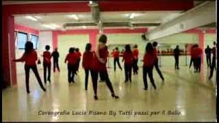 Ballo di gruppo Rumba Romana Ballo Coreografia di Lucia Pisano Tutti pazzi per il ballo