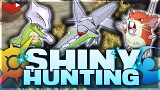 DUAL SHINY HUNTING LIVE STREAM - Pokemon Sun and Moon! [SPOILER FREE!] DUAL GRUBBIN HUNT!