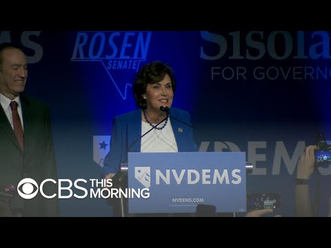 Nevada Democrat Jacky Rosen flips Senate seat