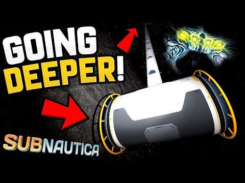 Subnautica - A VERY LONG WAY DOWN... The Ladder to the Abyss - Subnautica Gameplay