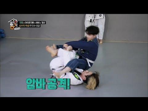 【TVPP】Bobby,JinHwan(iKON)-they are a sparring partner,바비,진환(아이콘)-야식 걸고 스파링@LTIER