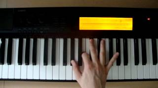 c 7sus piano chords how to play
