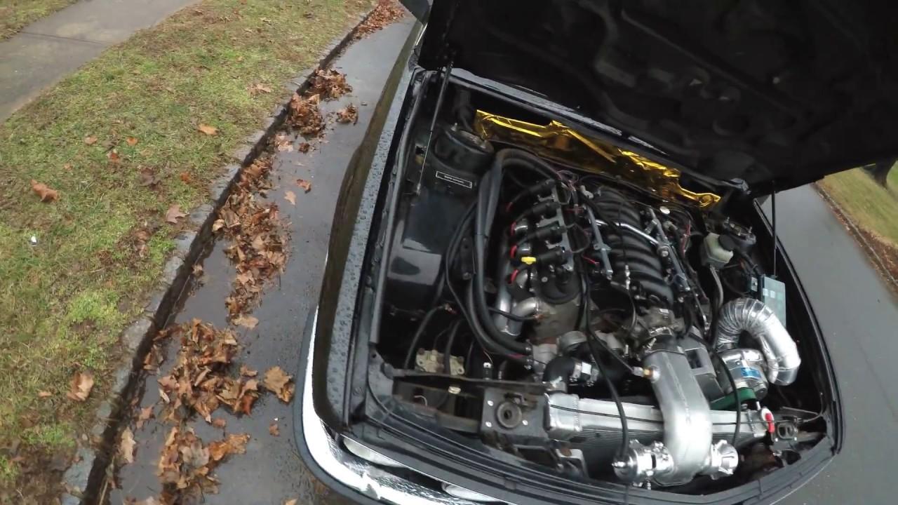 GoPro test Procharged LSX BMW E28