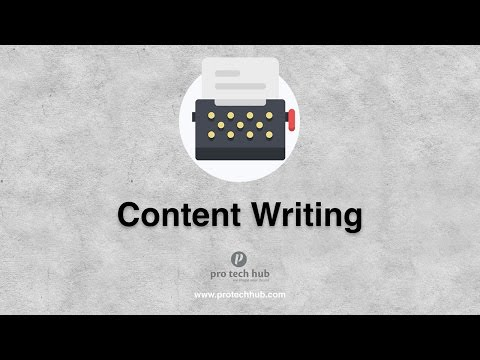 Introduction of Content Writing Service