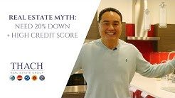 Do I need 20% Down Payment and Credit Score Myth - Ask Thach