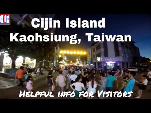 Kaohsiung, Taiwan | Cijin Island | Travel Guide | Episode# 9