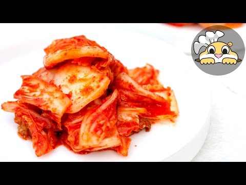Simple Kimchi Recipe (막김치)