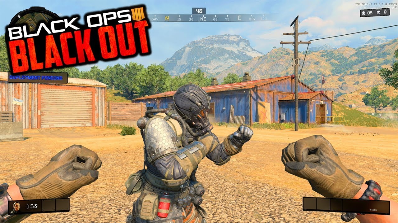 CoD Black Ops 4 BATTLE ROYALE! (Blackout Closed PS4 Beta)==