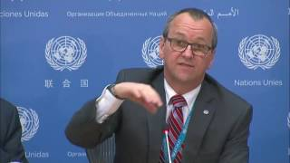 Geert Cappelaere (UNICEF) on the situation in Yemen - Press Conference (June 8 2017)