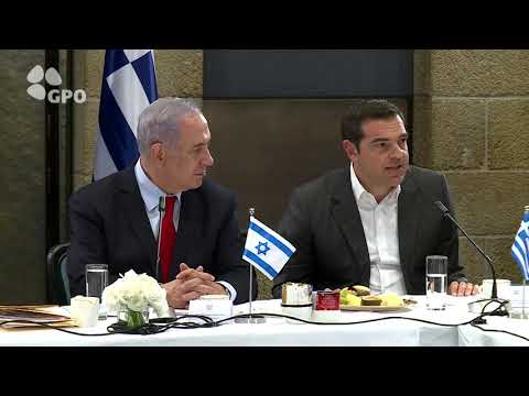 PM Netanyahu Meets Cyprus President Anastasiades, Greek PM Tsipras and US Sec of State Pompeo