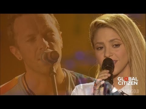 Coldplay - Yellow (Feat. Shakira) (Live Global Citizen Festival Hamburg 2017)