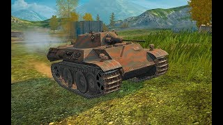 World of Tanks Blitz WOT gameplay playing with Dynamic Leopard EP177(06/16/2018)