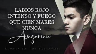 (LETRA) ¨LLUVIA EN TUS PESTAÑAS¨ - Virlan García (Lyric Video)
