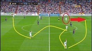ريال مدريد يبهذل برشلونه افضل 5 دقائق من العزف الرائع لخط وسط ريال مدريد في الكلاسيكو HD