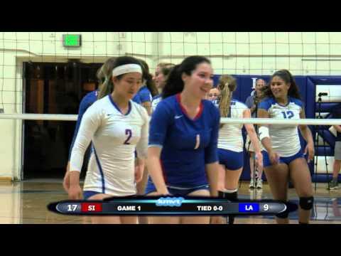 St. Ignatius Wildcats vs Los Altos Eagles - Volleyball  October 12, 2015
