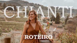 Roteiro de carro pela Toscana - Fizemos a Rota do vinho - Chianti 🍷