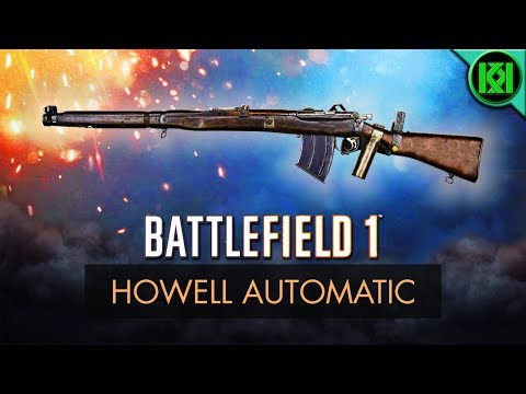 Battlefield 1: Howell Automatic Review (Weapon Guide) | BF1 Apocalypse Guns | PS4 Gameplay (DLC)