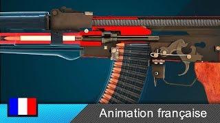 Gambar cover Comment fonctionne l'arme à feu AK-47 ?