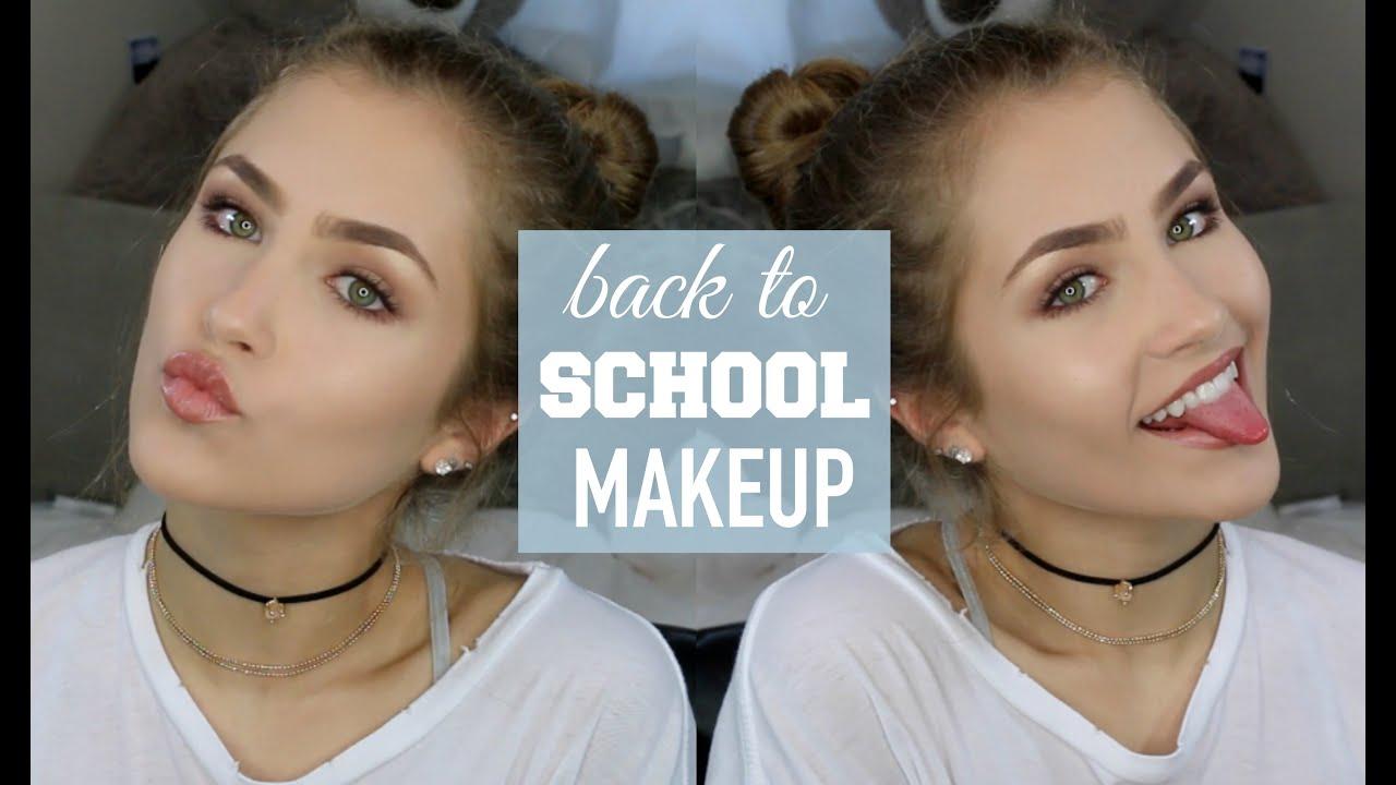 Back to school makeup tutorial glowy fresh mel joy youtube baditri Gallery