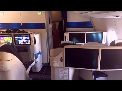 Inside Air Caraibes First Airbus A350-900 XWB (F-HHAV)