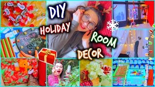 Diy Holiday Room Decor - Easy And Affordable Decorations+giveaway!