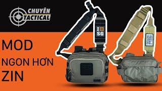 [GIẢI PHÁP] Quai MOD cho Túi Đeo 5.11 Tactical 2 Banger và LV6-Chuyentactical.com
