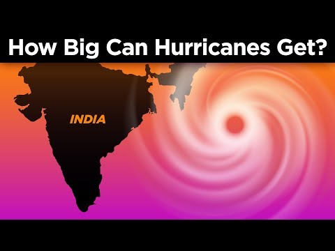How Big Do Hurricanes Get?