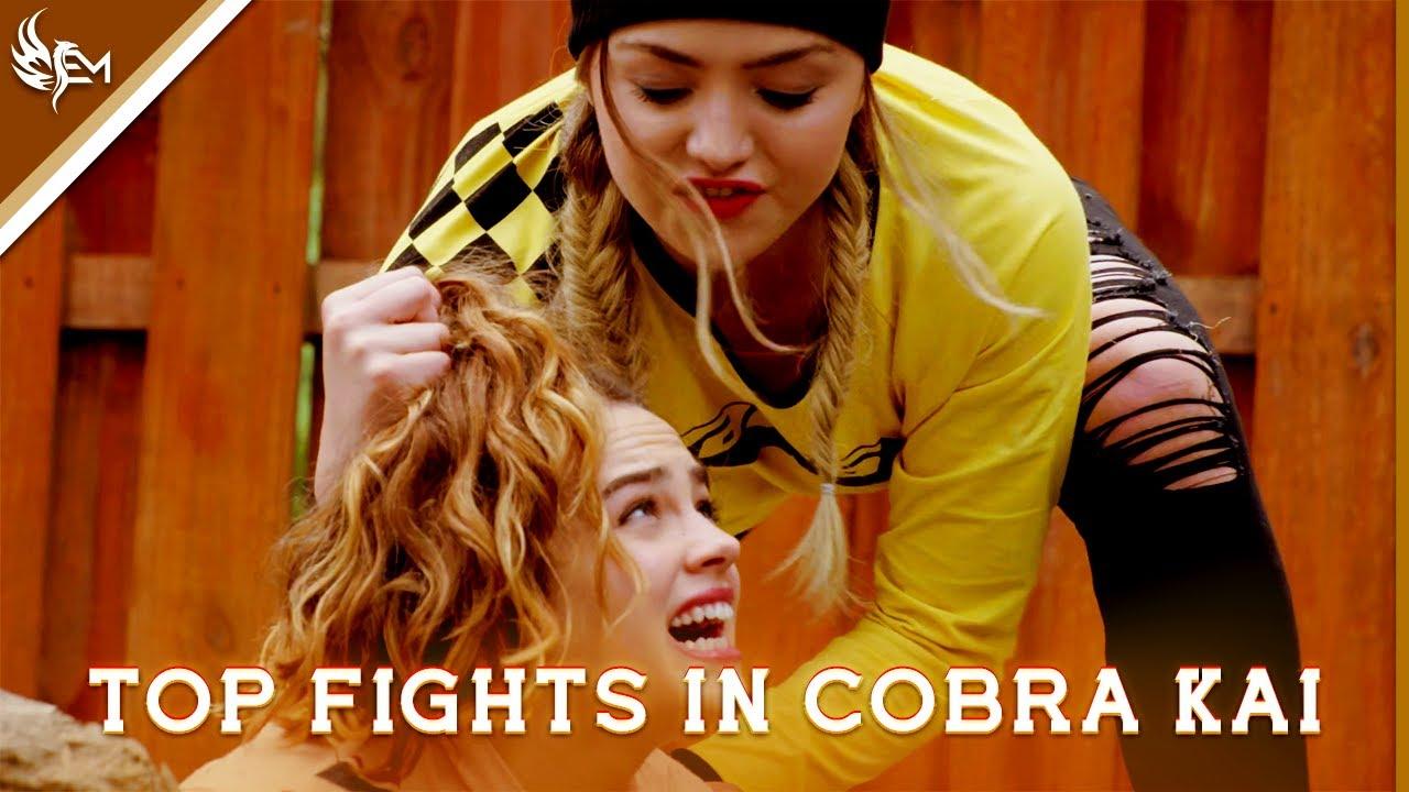 Download TOP FIGHTS IN COBRA KAI SEASONS 1-3 ( La Câlin , LAMBADA & Remix Slayers ) PART ONE