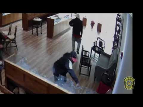 Video Shows Smash-and-Grab Suspects in $2 Million Jewelry Heist