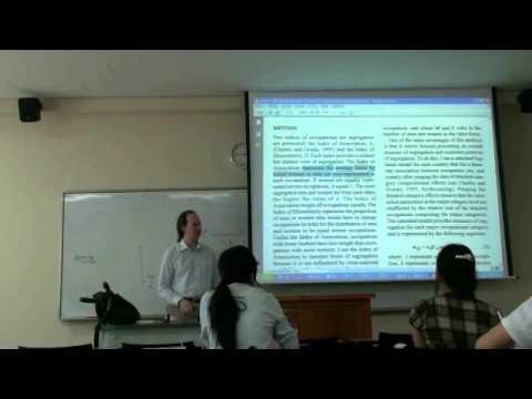 Environmental Sociology 7 (1/6): New Ecological Paradigm: Example: Environmental Underclasses
