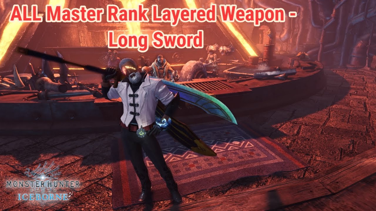 Iceborne All Layered Weapons Long Sword Youtube Increases ice elemental damage output. iceborne all layered weapons long sword