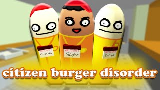 HOSTIGANDO CLIENTES (Citizen Burger Disorder / Burger Simulator) thumbnail