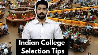 College Selection Tips in Hindi 2018 | Delhi University Admission | Best College after 12th