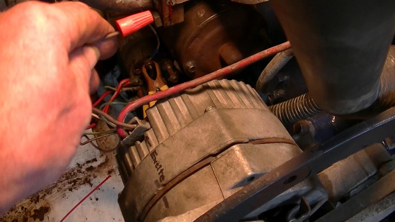 Delco 10si  U0026 39 One Wire U0026 39  Alternator