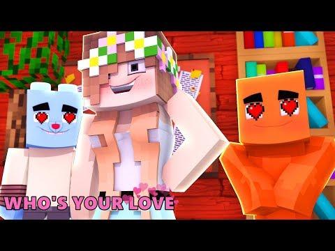 Minecraft: WHO'S YOUR LOVE? - DARWIN E GUMBALL APAIXONADOS PELA MESMA MENINA?!