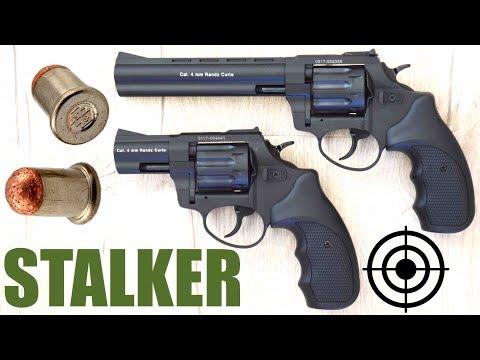 """Револьвер под патрон Флобера Stalker 2.5"""", 4.5"""", 6""""  Турция. Обзор с отстрелом"""