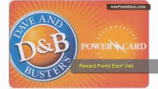 Dave And Buster's Coupons