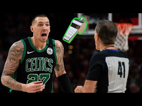 Daniel Theis Can't Get a Good Whistle (NBA Whistle Conspiracy?)