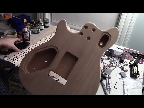 BYO EVH Wolfgang Guitar Quilted Top Kit - Build Update #1