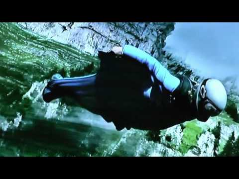 "Base Jumping scene from the movie ""Point Break"""