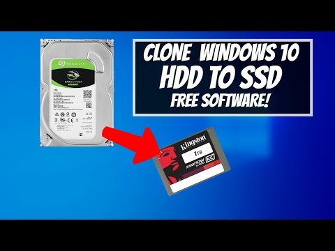 How to CLONE Windows 10 HDD to SSD for Free!