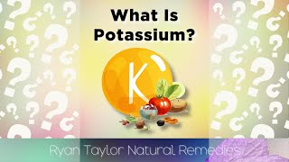 What Is Potassium?  #Shorts