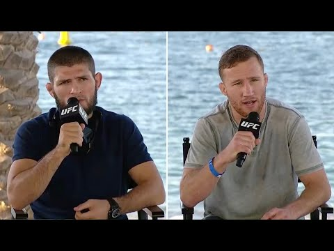 UFC 254: Хабиб vs Гэтжи - Пресс-конференция