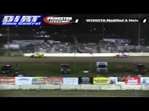 Princeton Speedway 7 18 14 WISSOTA Modified Races