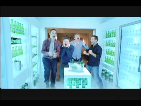 heineken closet beer commercial 1