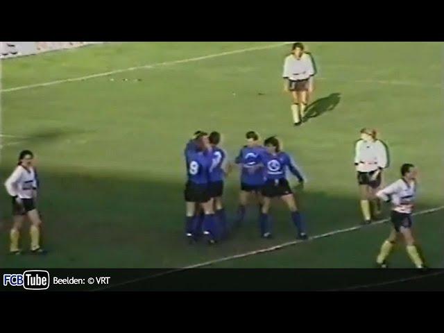 1988-1989 - Jupiler Pro League - 23. Club Brugge - Sporting Lokeren 2-2