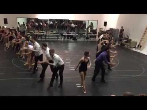 42nd Street London rehearsal