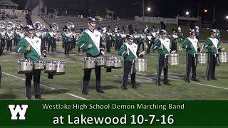 10.7.16 Westlake High School Demon Marching Band at Lakewood