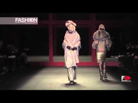 HIROKO KOSHINO Tokyo Fashion Week Fall 2016 by Fashion Channel