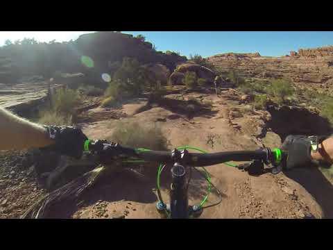 CUBE Stereo 160 SL, Moab Utah, Captain Ahab Trail